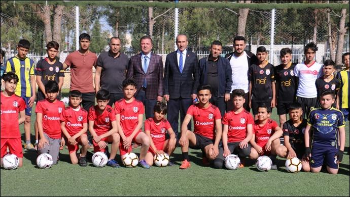 Başkan Yalçınkaya: Akçakale'den yıldız futbolcular çıkacak