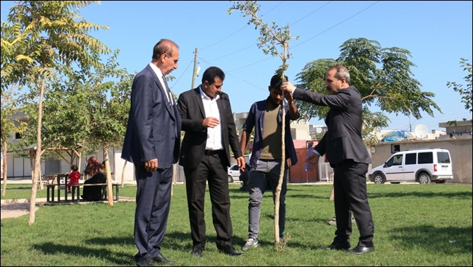 Başkan Yalçınkaya, Parkları Denetledi