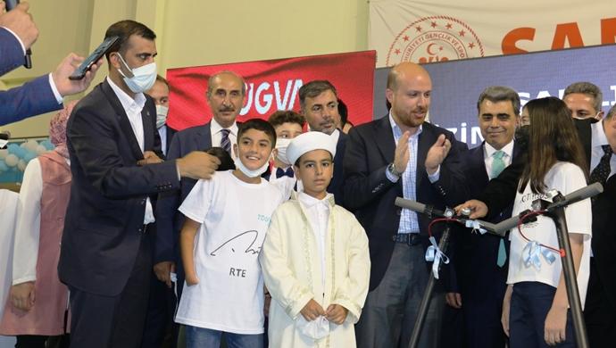 Başkan Yalçınkaya TÜGVA'nın Programına Katıldı