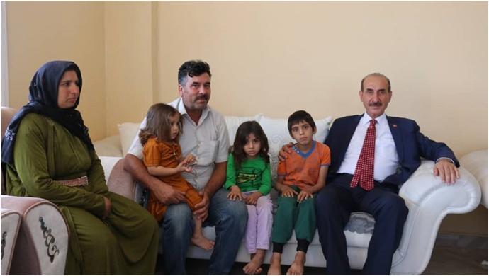 Başkan Yalçınkaya'dan Anlamlı Ziyaretler-(VİDEO)