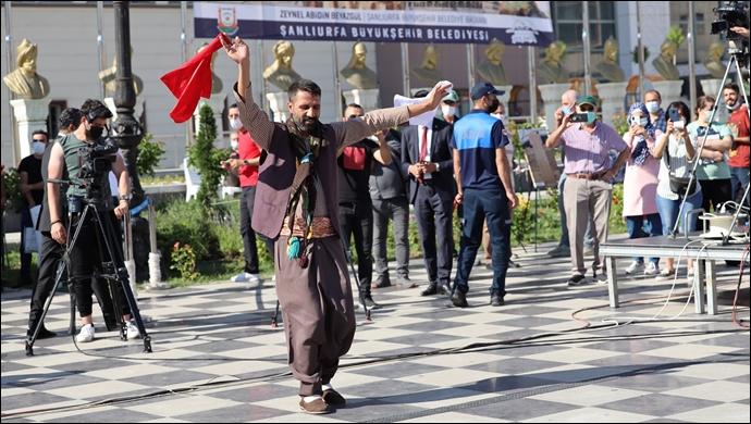 Başkent Ankara'da Şanlıurfa Rüzgârı Esti-(VİDEO)
