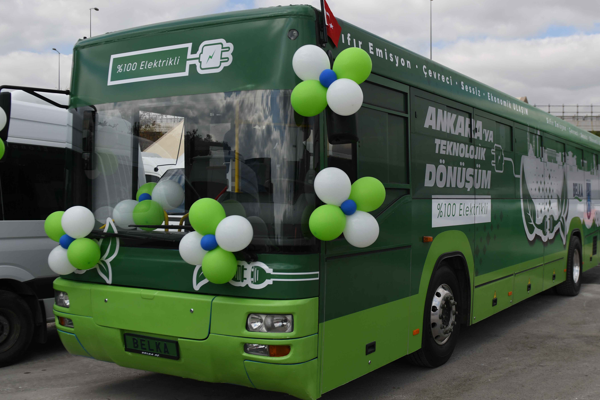 Başkent'in eski otobüsleri elektrikliye dönüştürülüyor