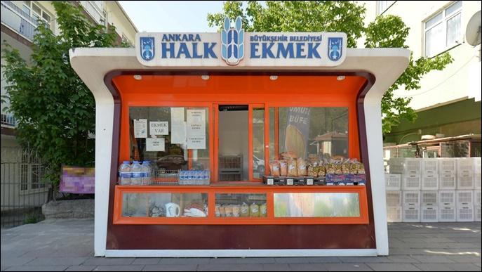 Başkent'te Halk Ekmek Büfe Sayısı Artıyor