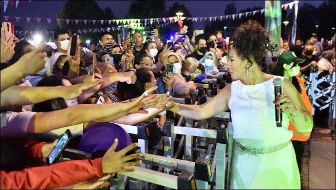 Başkent'te konser zaman :büyükşehir parklarda ile muhteşem açılış