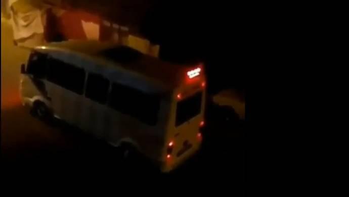 Batman'da minibüste kadına şiddet