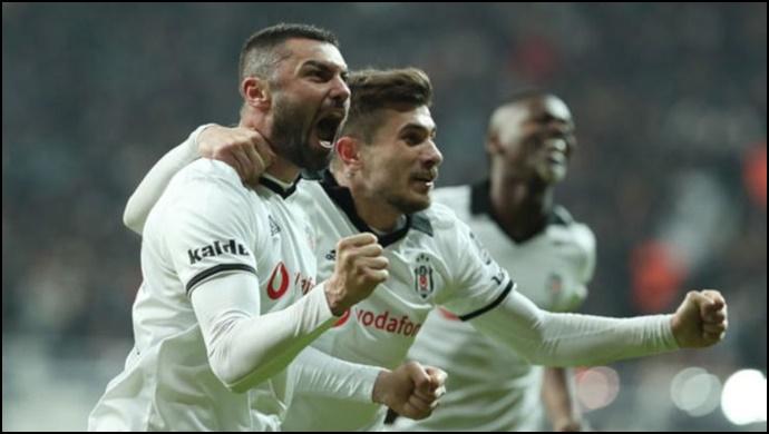 Beşiktaş, Bursa'yı 2 golle devirdi