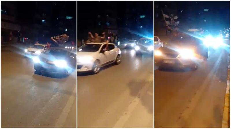 Beşiktaşlı taraftarlar Urfa'da yasak dinlemedi!