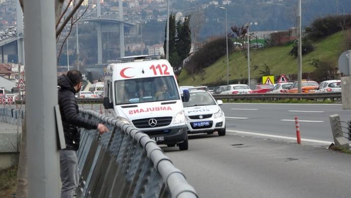 Beşiktaş'taki ağaçlık alanda ölü bulundu