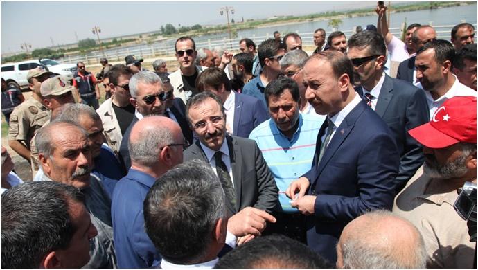 Bakan Yardımcısı Urfa'da