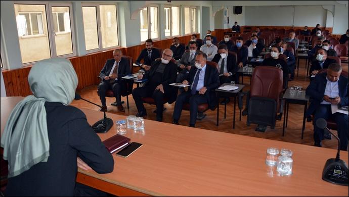 Birimler arası koordinasyon toplantısı yapıldı