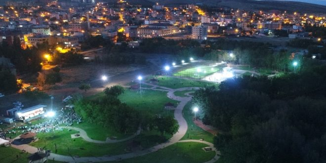 Bozova Kent Parkı Hizmete Girdi