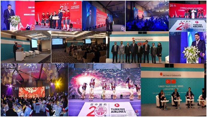 Büyükelçi Önen, Çin'de THY İstanbul-Çin direk uçuşları 20. yıl galasında