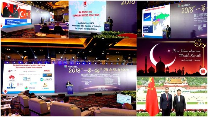 Önen 'Kuşak ve Yol' Formunda Türkiye'de yatırım olanaklarını anlattı