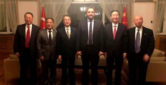 Büyükelçi Önen'den Çin Kominist Partisine ziyaret