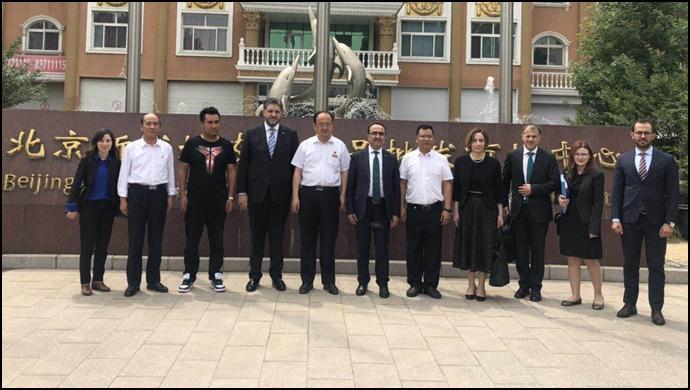 Büyükelçi Önen'den Dışişleri ve Tarım ve Orman Bakan Yardımcılarına iftar