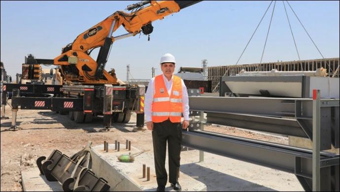 Büyükşehir Asfalttan sonra kendi betonunu da kendisi üretecek-(VİDEO)
