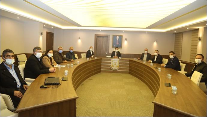 Büyükşehir Belediyesi İle Hizmet İş Sendikası Arasında Toplu İş Sözleşmesinin İlk Oturumu Gerçekleştirildi