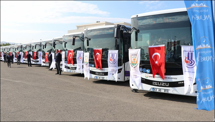 Büyükşehir duyurdu:Kurban bayramında Şanlıurfa'da Ulaşım Ücretsiz olacak mı?