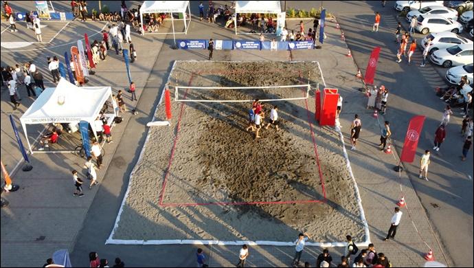 Büyükşehir, gençleri sporun farkılı alanlarına yönlendirmeye devam ediyor-(VİDEO)