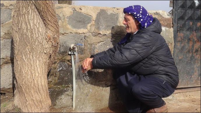 Büyükşehir Sayesinde Suya Kavuştular-(VİDEO)