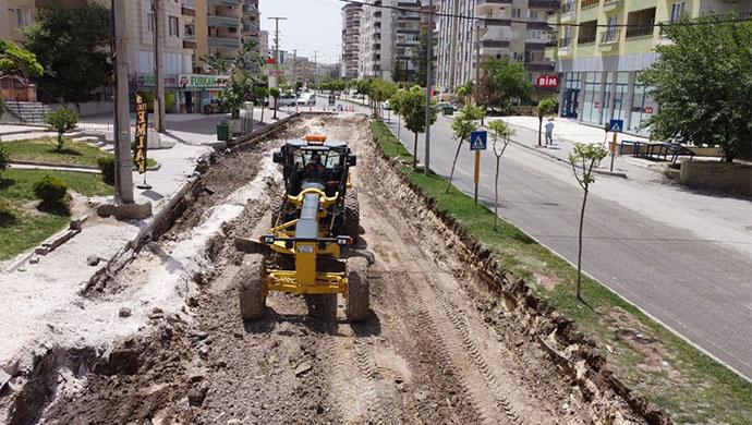 Büyükşehir'den Çöken Yolda Sil Baştan Düzenleme-(VİDEO)