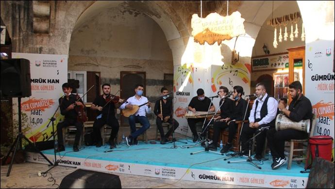 Büyükşehir'den Gümrükhan'da Müzik Günleri-(VİDEO)