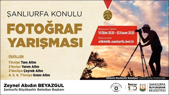 Büyükşehir'den Şanlıurfa Konulu Fotoğraf Yarışması