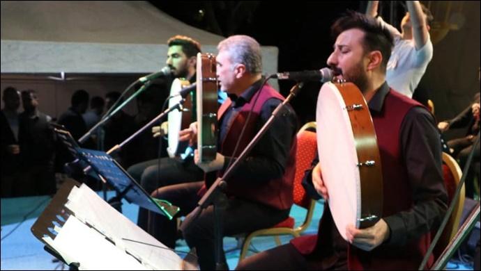 Büyükşehir'den Tarihi Balıklıgöl'de Muhteşem Konser