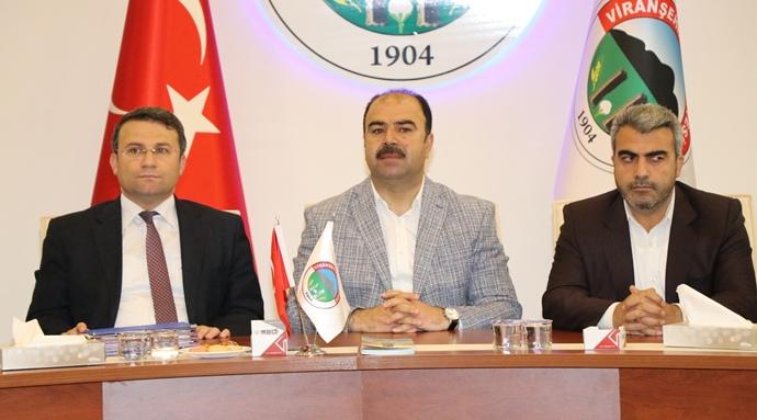 Büyükşehir'den Viranşehir'e Hak Ettiği Yatırımlar