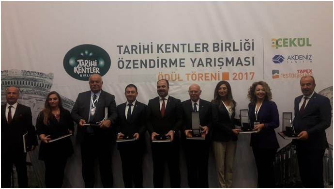 Büyükşehir'e 'En İyi Uygulama Ödülü'