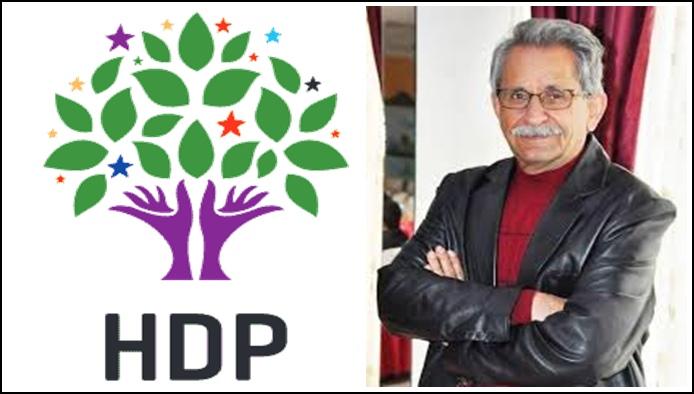 Çakar, HDP'den Kızıltepe Adaylığını Açıkladı