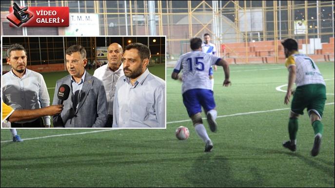 Cevheri maça konuk oldu: Şeyhanlılar Federasyonu-El Futuvaspor maçı nefesleri kesti