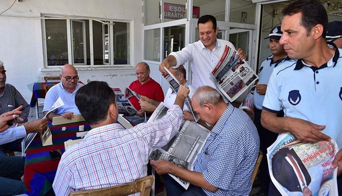 Ceylanpınar, Belediye Bülteni Okuyor