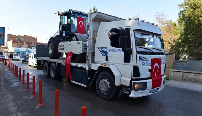 Ceylanpınar Belediyesi araç filosuna güç kattı