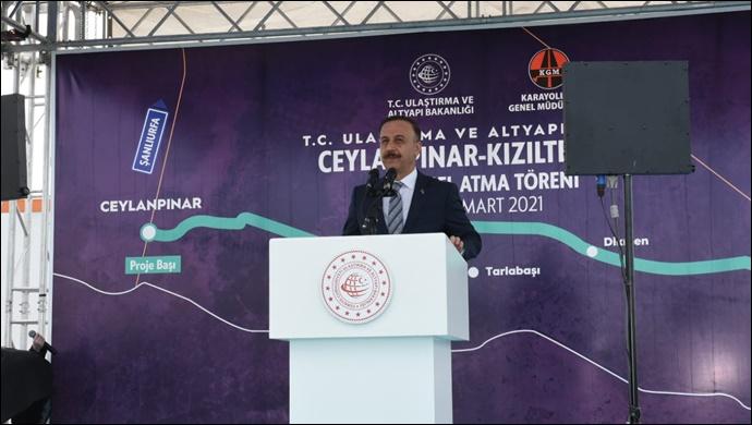 Ceylanpınar-Kızıltepe Bağlantı Yolunda Temel Atıldı-(VİDEO)