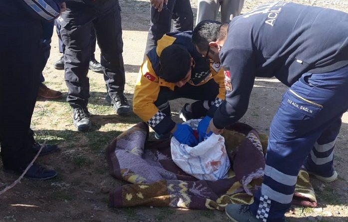 Ceylanpınar'da çuvala konulmuş bir bebek bulundu