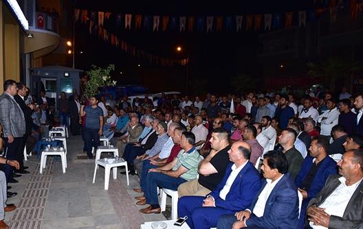 Ceylanpınar'da Hdp'den Ak Parti'ye Katılımlar Sürüyor
