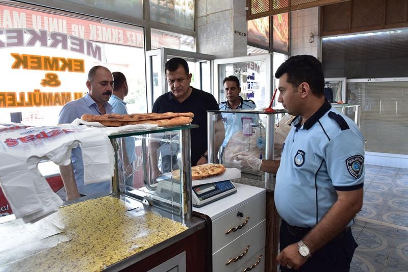 Ceylanpınar'da Ramazan'da Fırın Denetimleri Hız Kesmedi