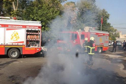 Cezaevinde Yangın Çıktı Sandılar, Tatbikat Çıktı