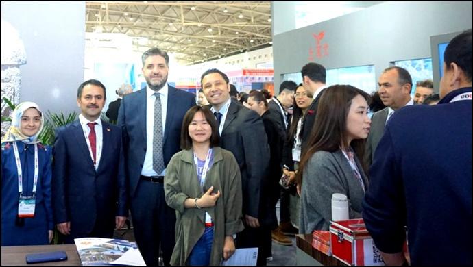 ÇHC Pekin Büyükelçimiz A. Emin Önen, Çin Turizm Fuarında