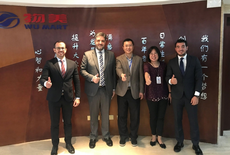 ÇHC Pekin Büyükelçimiz Önen, ziyaretlerini sürdürüyor