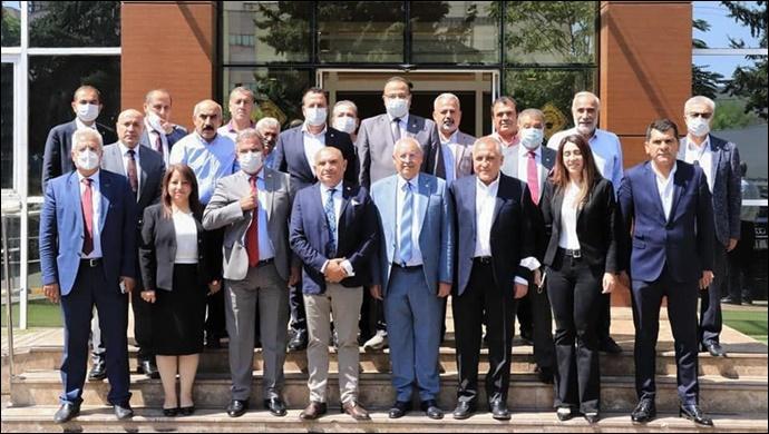CHP Doğu Masası'nın Gaziantep Programına Şanlıurfa Heyeti Katıldı