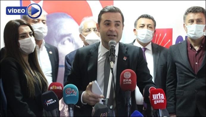 CHP Genel Başkan Yardımcısı Akın: Hukuksuzca desteklemelerine el konuldu Urfa'daki çiftçilerimizin