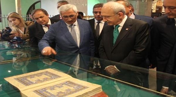 CHP Genel Başkanı Kılıçdaroğlu, Mevlana Müzesi'ni Ziyaret Etti