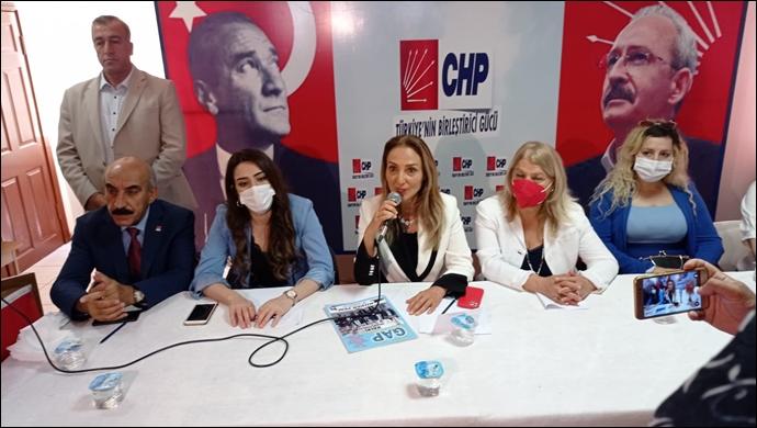 CHP Kadın Kolları Genel Başkanı Şanlıurfa'ya geldi
