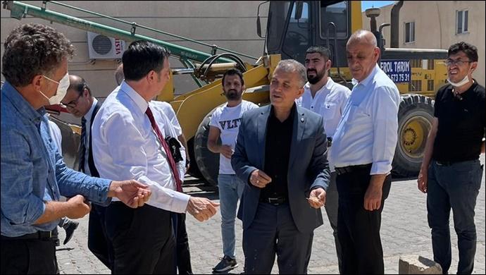 CHP Milletvekilleri Sarıbal ve Kaytancıoğlu'ndan Hububat Merkezine Ziyaret