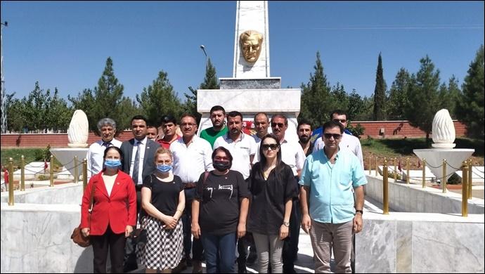CHP Şanlıurfa İl Başkanlığı 30 Ağustos Zafer Bayramını Kutladı