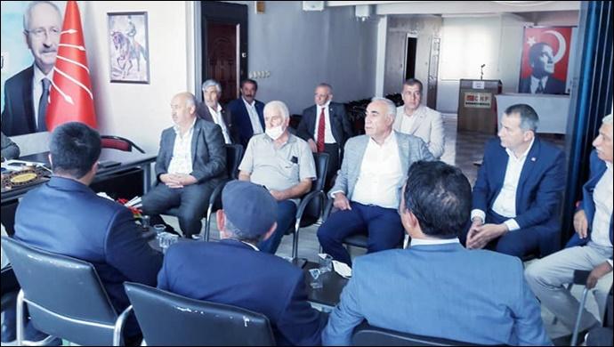 CHP Şanlıurfa İl Başkanlığında İlçe Başkanları Toplantısı Yapıldı