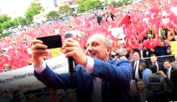 CHP'nin Cumhurbaşkanı Adayı Muharrem İnce Şanlıurfa'ya geliyor