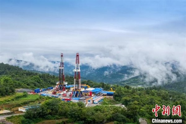 Çin'in kaya gazı üretiminde rekor